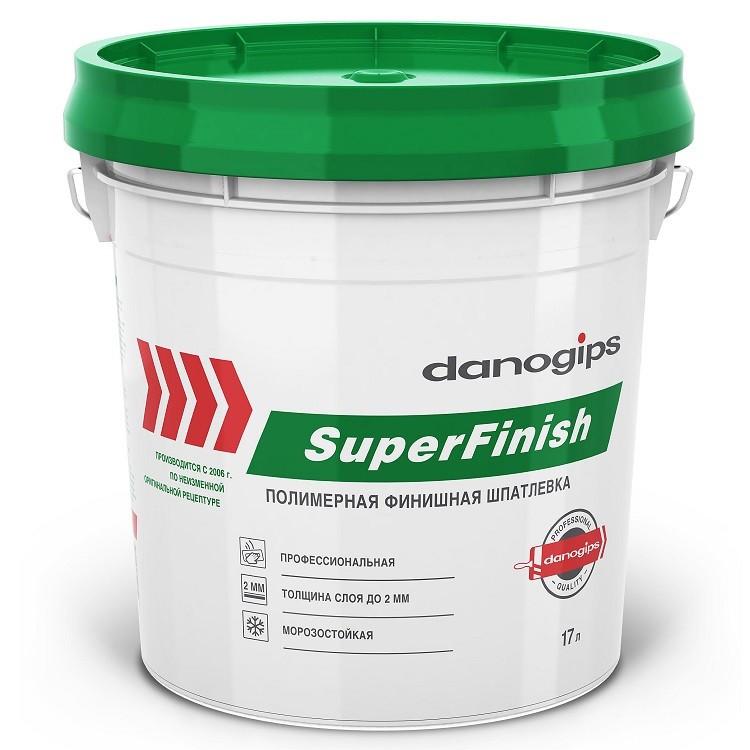 Шпатлевка универсальная Danogips Sheetrock SuperFinish 17 л