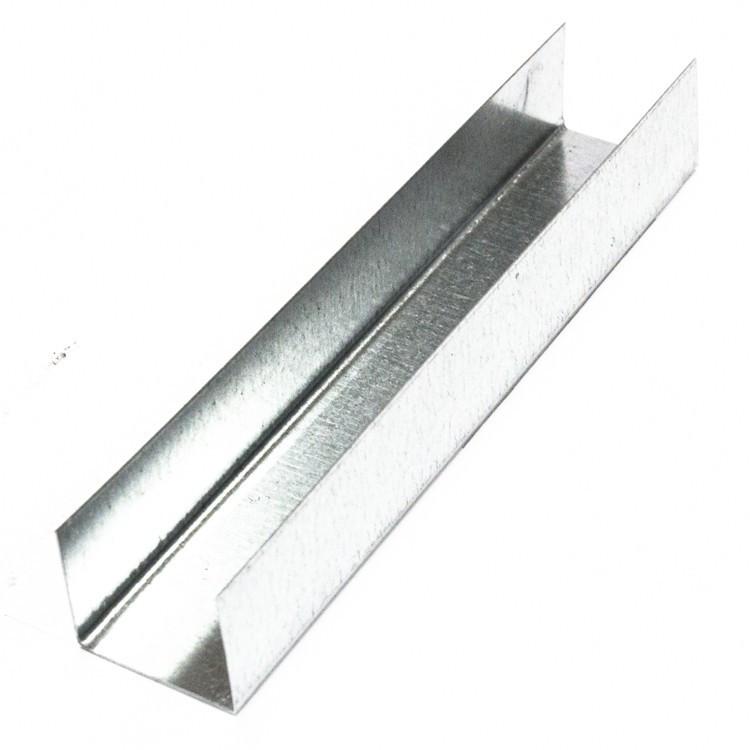 Профиль направляющий ПН ЕВРО 27х28х0.5 мм 3000 мм