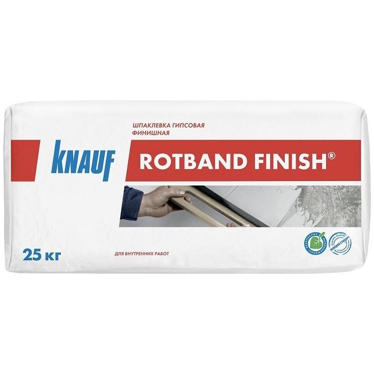Шпатлевка финишная гипсовая Кнауф Ротбанд 25 кг