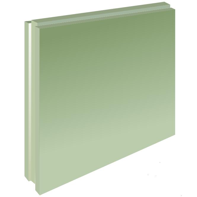 Плита пазогребневая Волма полнотелая влагостойкая 667х500х80 мм (Волма)
