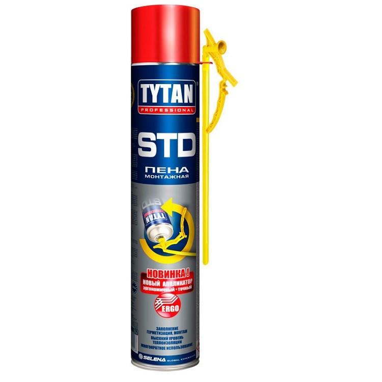 Пена монтажная Tytan Professional STD с аппликатором Ergo 750 мл