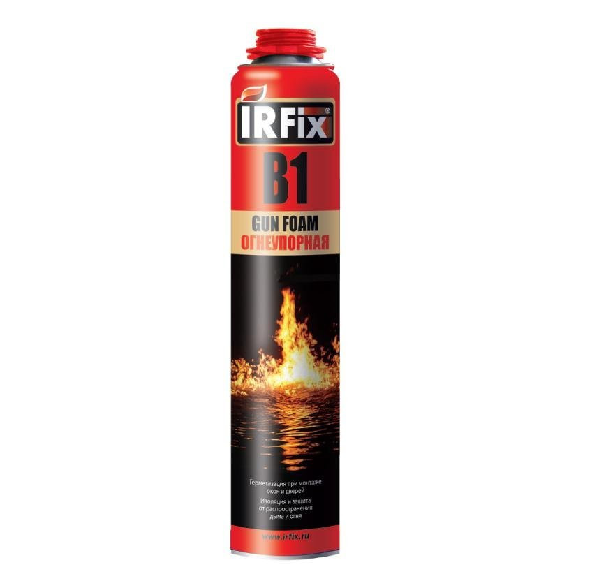 Пена монтажная В1 огнеупорный IRFix 750мл