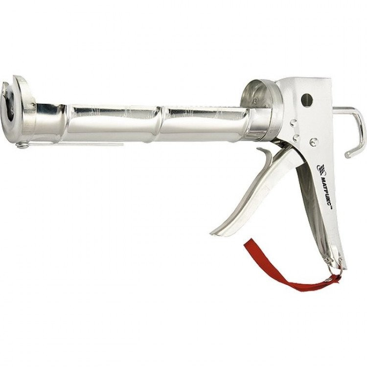 Пистолет для герметика хромированный Matrix