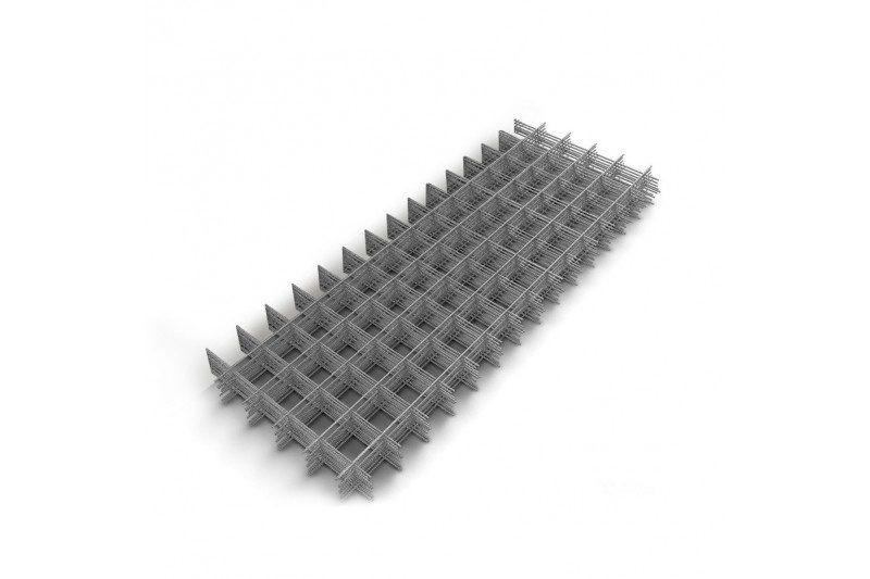 Сетка металлическая под стяжку 100х100х3 мм 1х2м