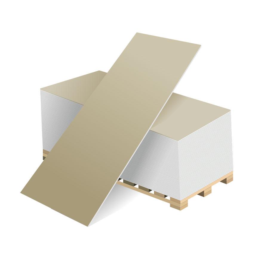 Гипсокартон (ГКЛ) Волма 2500х1200х12,5 мм