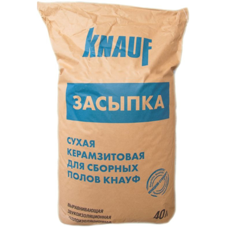 Керамзитовая засыпка Knauf фракция 0-5 мм 40 л (Кнауф)