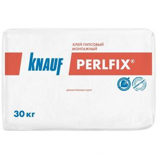 Клей гипсовый монтажный Кнауф Перлфикс 30 кг (Кнауф)