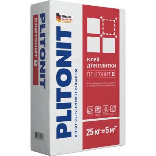 Клей для плитки Plitonit В 25 кг