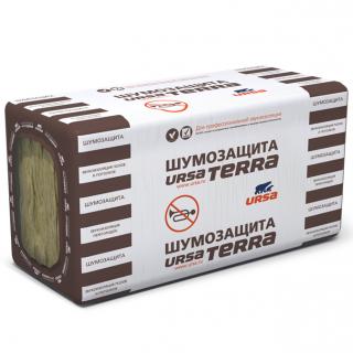 Теплоизоляция Ursa Terra 34 PN Шумозащита 1250х610х50 мм 10 плит в упаковке