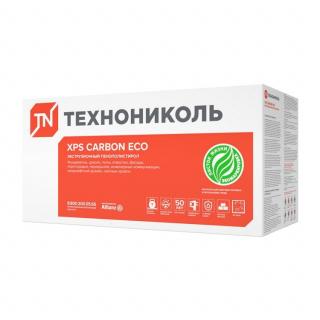 Теплоизоляция Технониколь Carbon Eco Fas/2 S/1 1180x580x50 мм 8 плит в упаковке