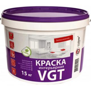 Краска VGT интерьерная 15 кг