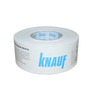 Лента бумажная Knauf для швов гипсокартона 52мм х 50 м (Кнауф)