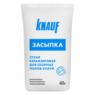 Кнауф засыпка керамзитовая (40 л)